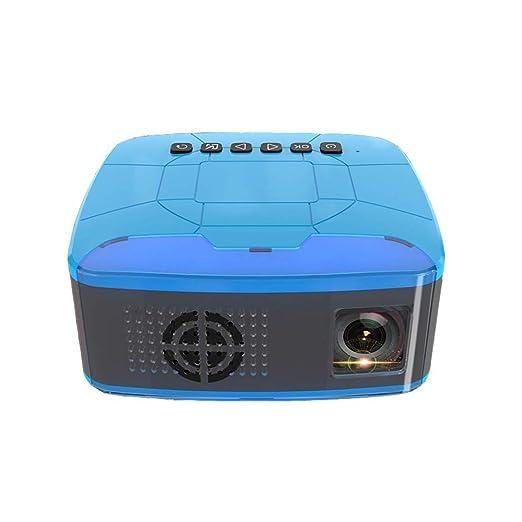 Dsqcai Proyector 500ANSI Lumen Mini Proyector Portátil 1080P LED ...