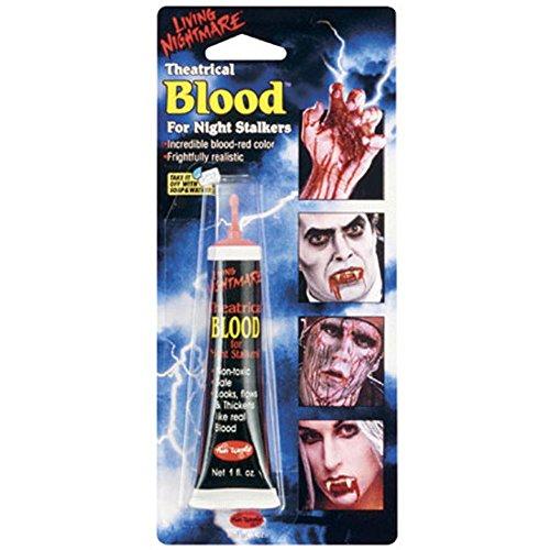 Halloween Tube Of Fake Blood (Halloween Fake Blood Uk)