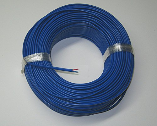 T-type Thermocouple Wire AWG 24 Solid Wire w. PVC insulation - 10 yd by Minnesota Measurement Instruments