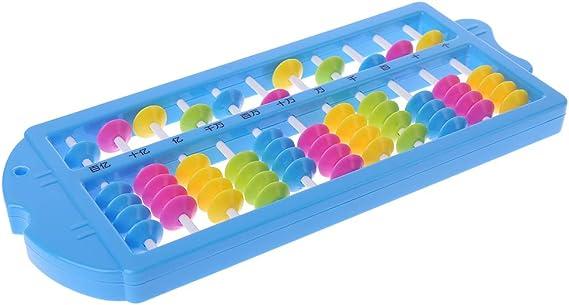 ATATMOUNT Abaco colorato aritmetico Soroban Matematica Strumenti di calcolo Giocattoli educativi
