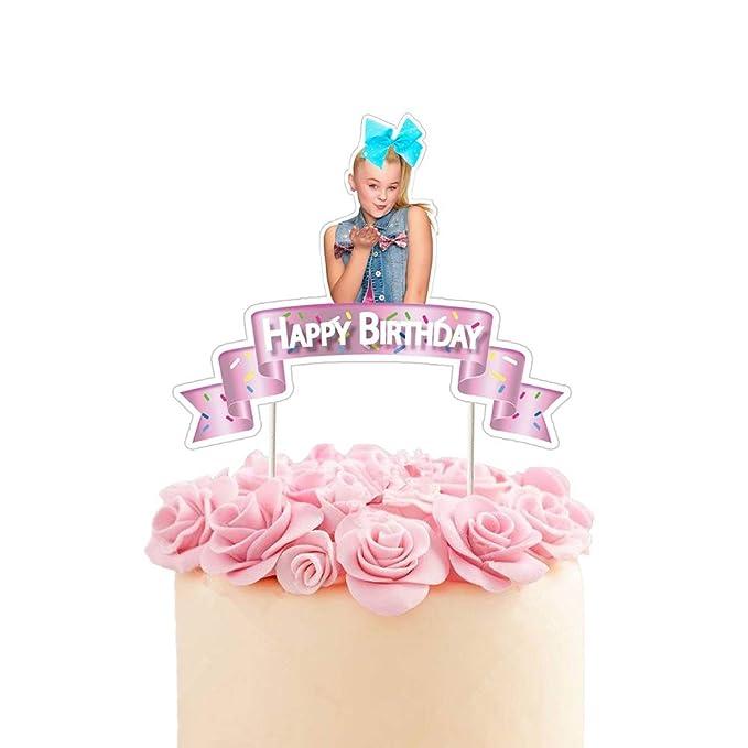 Jojo decoración para tarta de cumpleaños, decoración de ...