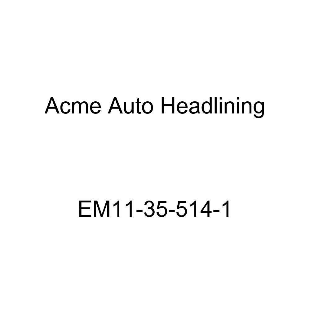 Acme Auto Headlining EM11-35-514-1 Light Green Replacement Headliner 1941-42 Cadillac Series 63 4 Door Limousine - 8 Bow
