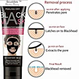 Blackhead Remover Charcoal Face Black Mask - Peel...