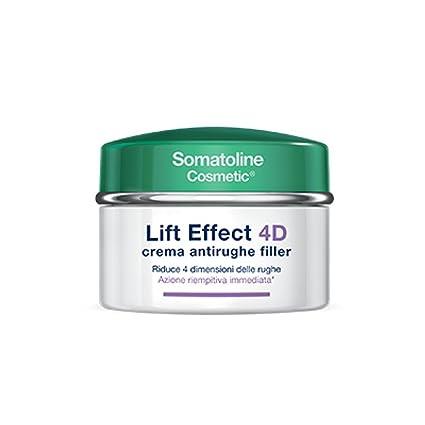Somatoline Crema Antirughe Filler Spf10 Lift Effect 4D - 50 ml  Amazon.it   Bellezza 0157cb9f3ea