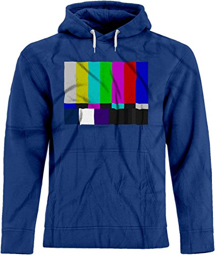 BSW Unisex No Channel Color Bars Vintage Big Bang Theory Hoodie LRG Royal