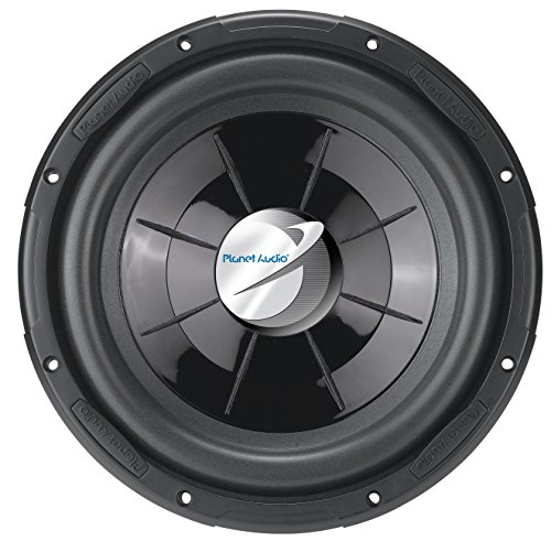 Planet Audio PX12 AXIS 12 inch Single Voice Coil (4 Ohm) 1000 Watt Car Subwoofer ()