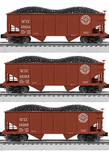 WESTERN MARYLAND 2 BAY HOPPER -  LIONEL TRAINS, LIO684141