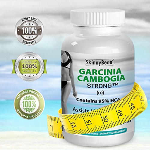 Garcinia Cambogia Extract Pure ★ Premium ★ Weight Loss Capsules 95 HCA Extra Strength Pills That Work. Fresh Made to Order Fat Burner Capsules.