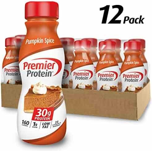 Premier Protein 30g Protein Shake, Limited Edition Pumpkin Spice, 11.5 Fl. Oz, 12Count