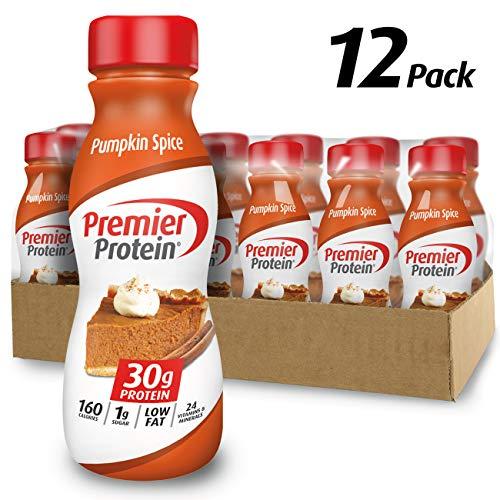 Premier Nutrition Protein Premier Protein 30G Protein Shake, Limited Edition Pumpkin Spice, 11.5 Fl. Oz, 12 Count