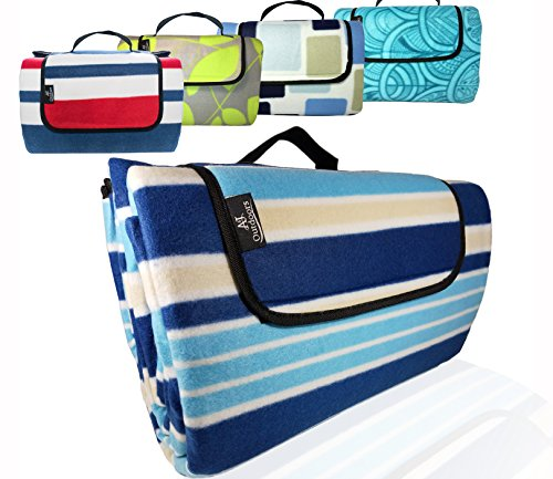 3-Layer Most Durable Outdoor Blanket/Picnic Blanket