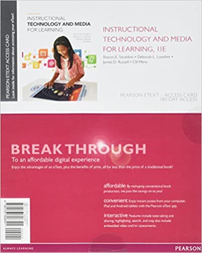 Instructional Technology And Media For Learning Enhanced Pearson