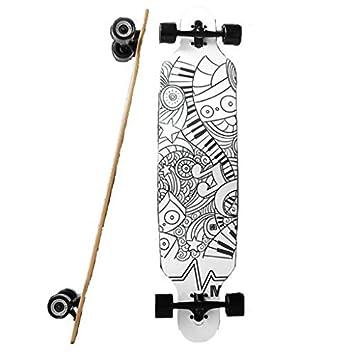CAC profesional cuatro ruedas Skateboard, Longboard para adultos y ...