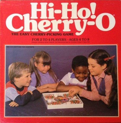 Vintage 1981 Hi-Ho! Cherry-O Game