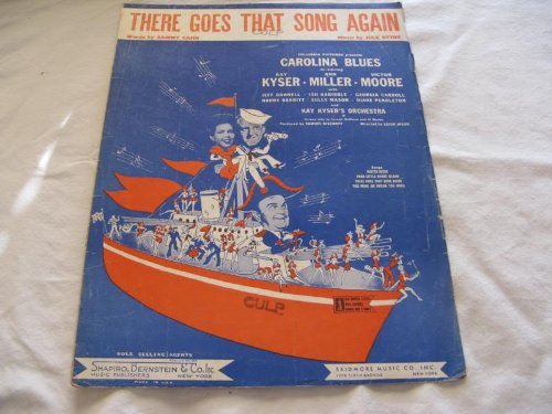 (THERE GOES THAT SONG AGAIN KAY KYSER 1944 SHEET MUSIC FOLDER 441 SHEET MUSIC)