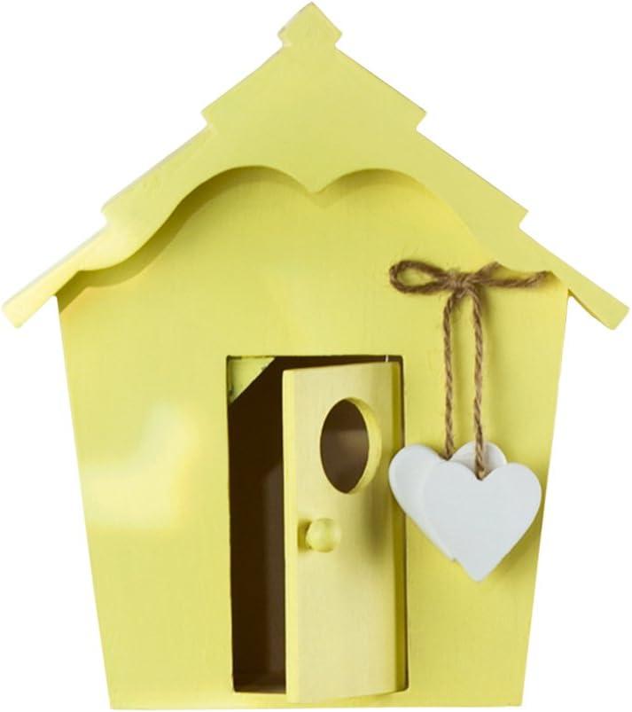 Unbekannt Vintage Pajarera con corazones Madera, Jardín, casa de pájaros, Comedero, regalo: Amazon.es: Productos para mascotas