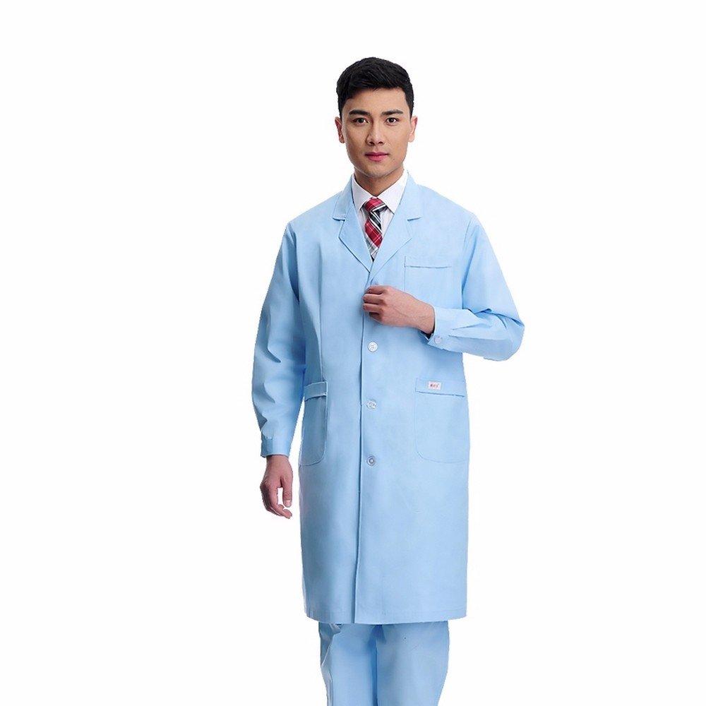 Xuanku Desgaste De Los Médicos, Hombres Y Mujeres Médicos del Hospital, Batas De Laboratorio, Batas, Ropa De Trabajo, De Cuello Blanco, De Cuello Azul, ...
