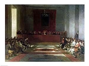 Francisco De Goya – La junta de Filipinas Artistica di Stampa (60,96 x 45,72 cm)
