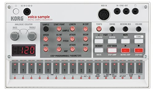 Korg VOLCASAMPLE Playback Rhythm Machine