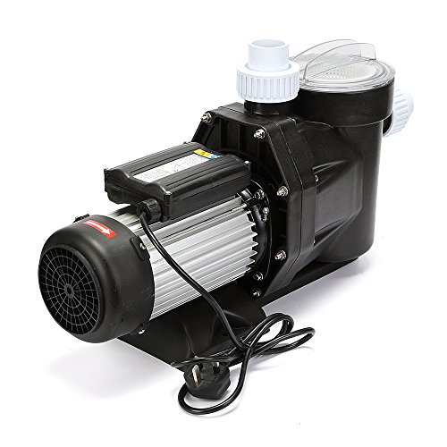 Happybuy In Ground Pool Pump Self Primming above Swimming Pool Pump 2.5HP Pool Pump for Pool and Spa Pump (2.5HP) by Happybuy