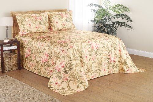 UPC 029927380811, S. Lichtenberg Co. Martinique 100-Percent Polyester Bedspread, Full, Yellow
