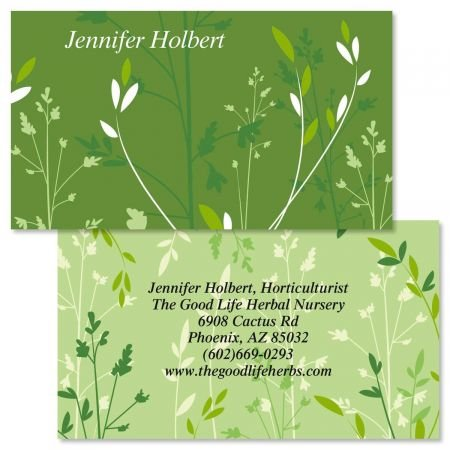 Organic Double-Sided Business Cards - Set of 250 2