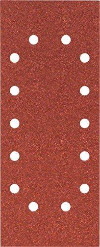 80 Grain Lot de 10 115mm x 280mm Feuille Abrasif pour Ponceuses Orbitales