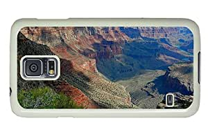 Hipster best Samsung S5 Case grand canyon hd PC White for Samsung S5