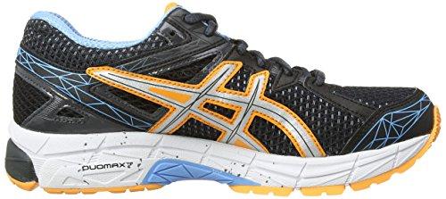 asics Gt-1000 3 - entrenamiento/correr de sintético mujer negro - Black (Onyx/Silver/Mist Blue 9993)