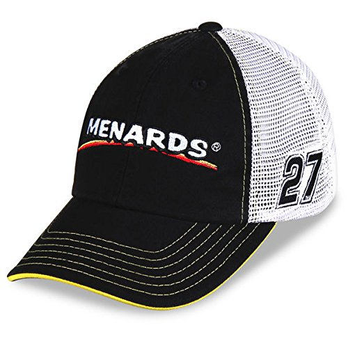 paul-menard-checkered-flag-27-menards-sponsor-trucker-adjustable-hat-black