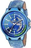Espoir Analog Blue Dial Men's Watch-LCS-8075