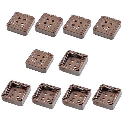 - Willwin 10 Pcs PLCC44P IC Sockets PLCC DIP 44Pin Through Hole Mounting (DIP)