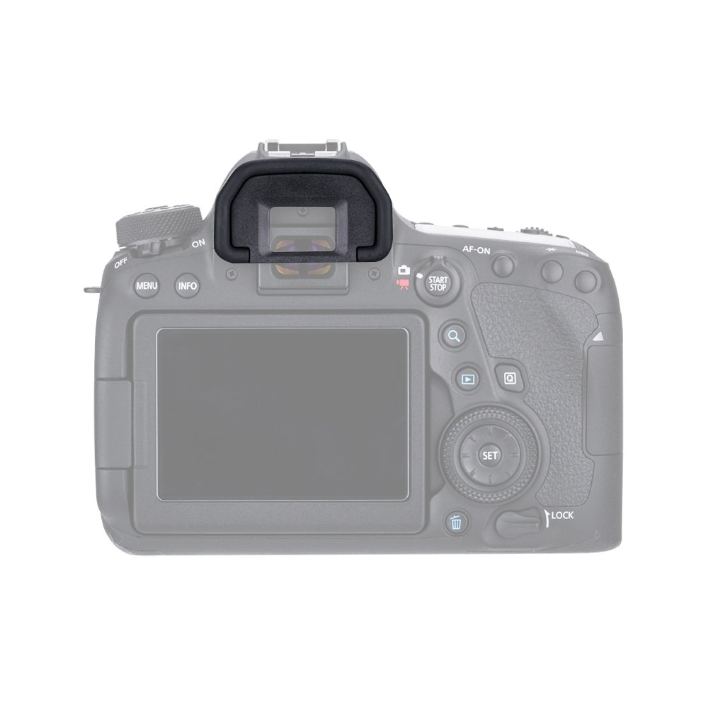 Lote de 2 Eyepiece 450D 100D 300D 650D 200D 760D 600D 400D 500D 350D 1100D JJC Visor Ocular Eyecup para Canon EOS 77D 700D 750D 1200D C/ámaras Reemplazo de Canon Ef 800D 550D