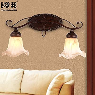 BL Modern retro Bathroom mirror lights vintage mirror lights-classical European mural lights metal lamps 510/770mm*260/300mm, Bathroom Mirror Lamps (110-120V)