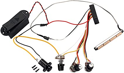 wiring control for guitars amazon com supvox guitar wiring harness accessories preamp  guitar wiring harness accessories