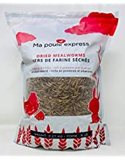 5 Lbs / 2.26Kg Hen Express Dried Mealworms for Wild Birds etc. Approx. 80,000 Mealworms
