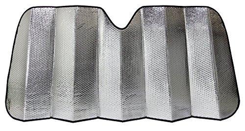 Majic JUMBO Accordion Sunshade Car Windshield Sun Shade Reflector, Silver