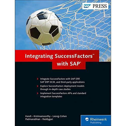 Integrating SuccessFactors with SAP (SAP PRESS) Hardcover – June 3, 2015