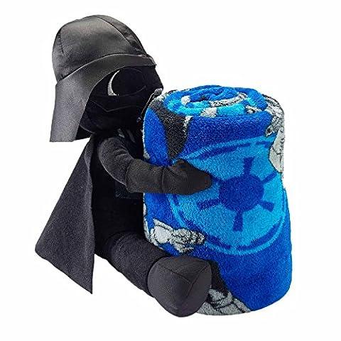 Disney Star Wars the Force Awakens Episode VII Plush Throw and Darth Vader 2 ... (Star Wars Darth Vader Blanket)