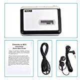 Cassette Converter,Cassette Tape Player Record Tape to MP3 Digital Converter,USB Cassette Capture,Save to USB Flash Drive directly,No Need Computer