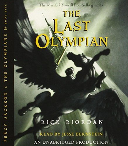 Percy Jackson and the Olympians books 1-5 CD Collection (Percy Jackson & the Olympians) by Listening Library (Audio)