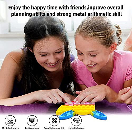2 Pack Infinity Cube Fidget Toys Set, Fidget Toy Pack for Stress and Anxiety Relief Mini Toys Fidget Toys Set for Adults, Infinity Cube Fidget Cubes for ADD ADHD Killing Time