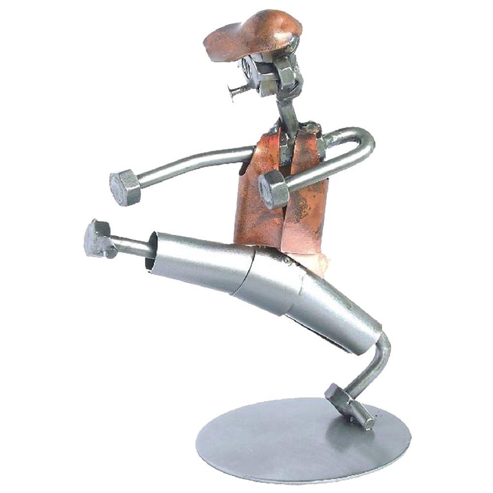Figur aus Elemente recycelten Metall – Das-PK1
