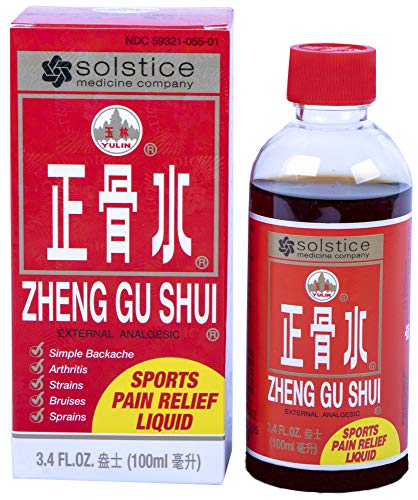 (SOLSTICE MEDICINE COMPANY - Zheng Gu Shui External Analgesic Lotion, 3.4 Oz)