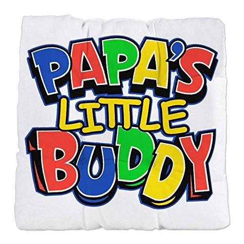 Tufted Chair Cushion Papa's Little Buddy Dad Father Son (Papa Son Chair)