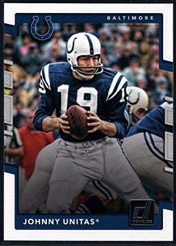 2017 Donruss #229 Johnny Unitas Baltimore Colts Football Card