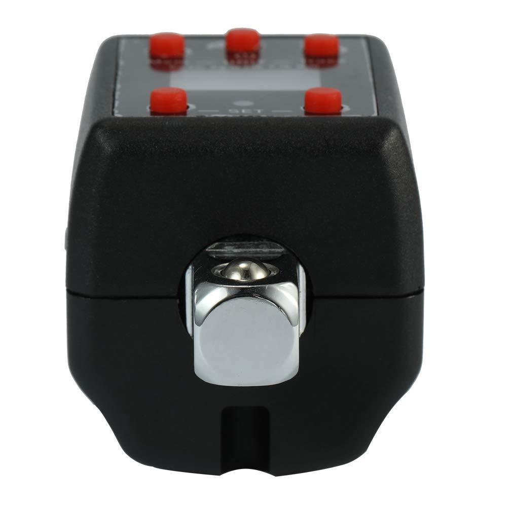 Baugger Chiave dinamometrica regolabile da 1,5-1000 Nm con display digitale elettronico ad alta precisione Chiave dinamometrica