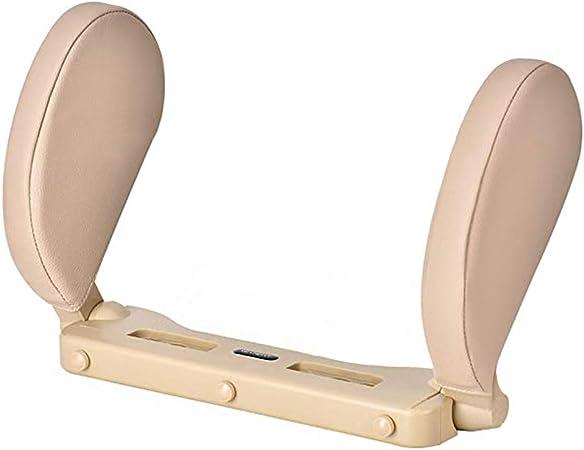 Auto Kopfstütze Nackenstütze Kinder Nackenstütze Atmungsaktiv Verstellbar Einziehbare Kopfstützkissen Für Kinder Erwachsene Beige Auto