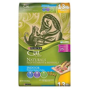 Purina cat chow dry cat food naturals 13 for Purina game fish chow