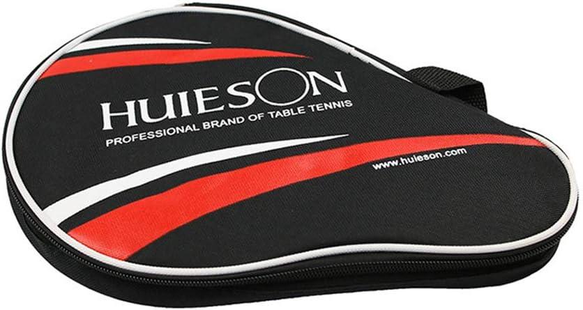 KEISL - Juego de 3 Pelotas con Forma de Calabaza Doble para Dos Palas de Golf, Pala de Ping Pong y Funda para Raqueta de Tenis de Mesa